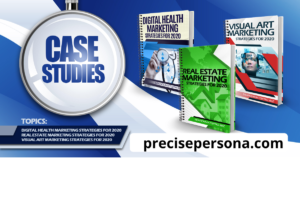 3 case studies - medical, real estate , visual art - buyer personas -customer avatar created by precise persona