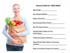 buyer persona of a busy mom